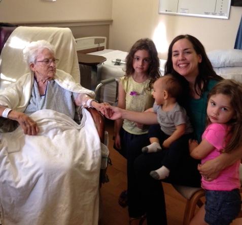 Longs with Grandma Great
